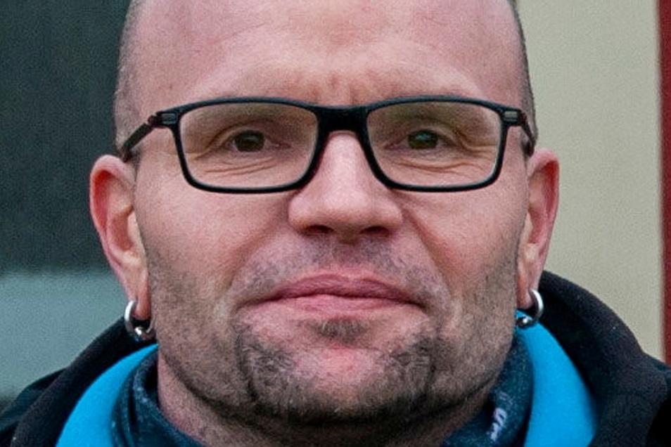 Raimo Siegert ist seit 15 Jahren für die Mobile Jugendarbeit Großenhain & Priestewitz zuständig.