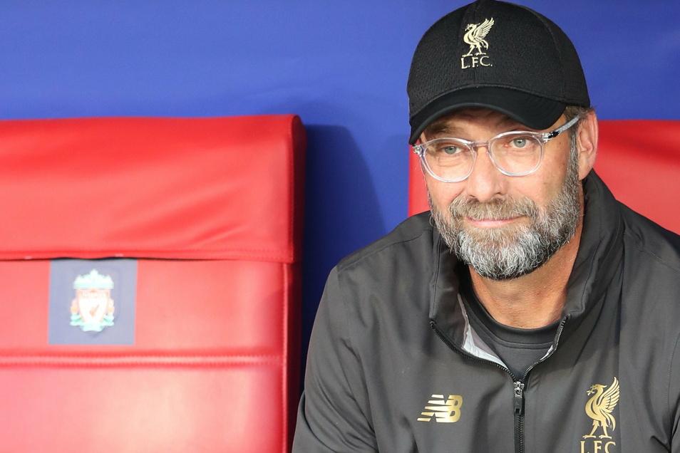 Soll am 16. Februar mit dem FC Liverpool in Leipzig antreten: Reds-Coach Jürgen Klopp.