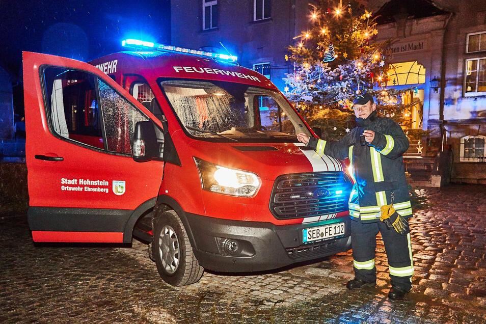 Wieder einsatzbereit. Ehrenberg hat ein neues Feuerwehrfahrzeug erhalten.