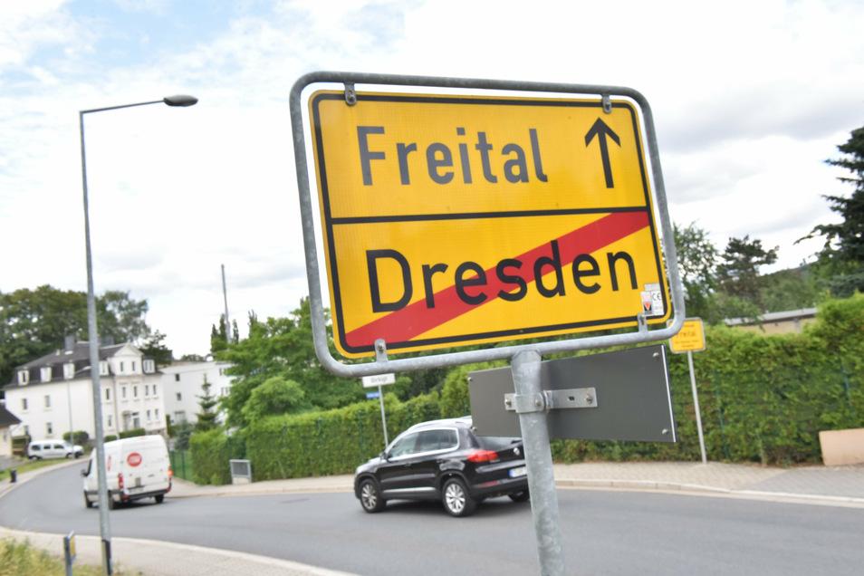 Die Übergänge von Freital nach Dresden und umgekehrt werden längst nicht mehr zur Kenntnis genommen.