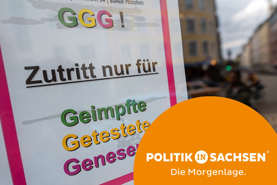 Als erste Region in Sachsen muss der Landkreis Zwickau am Mittwoch die 3G-Regel einführen. Sie gilt aber nicht überall.