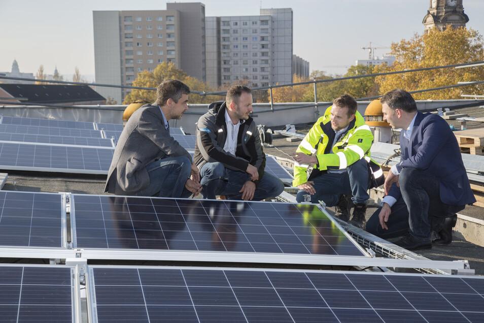 Photovoltaik Anlage auf einem Haus