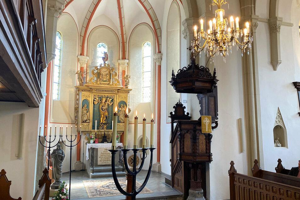 Die prächtige Innenausstattung der Frauenkirche.