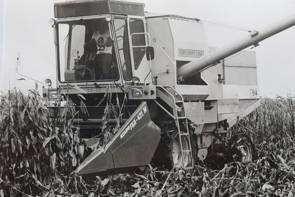 Erntemaschinen wie der Mähdrescher E 514 waren auf den Feldern in der ganzen Welt im Einsatz.