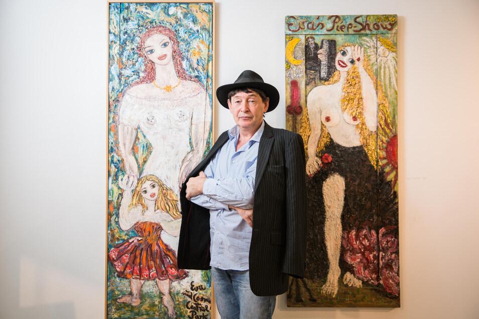 Holger John, Künstler und Galerist