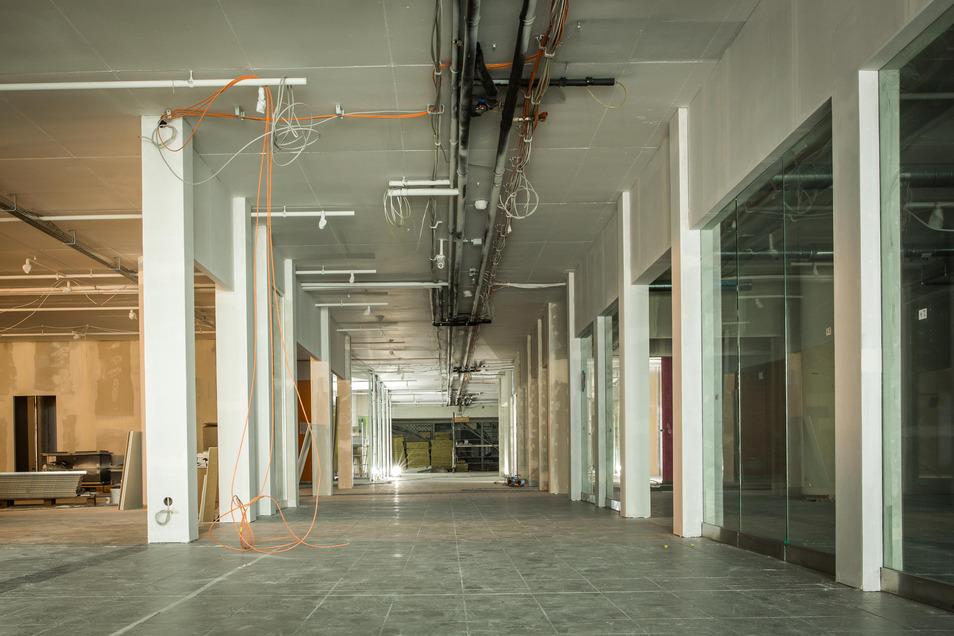 Noch ist es eine Baustelle, im Winter soll die Eröffnung sein.