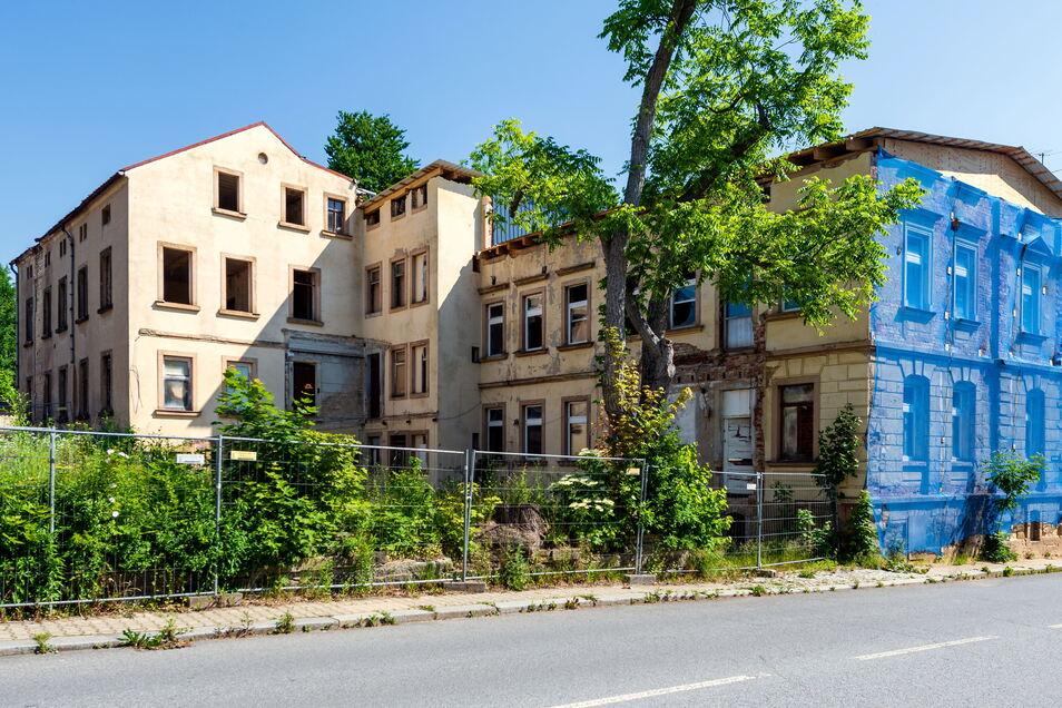 Kreuzstraße 5, Hinterhaus: Der Zustand ist grenzwertig, für einen Investor wären die Nebengebäude aber von Bedeutung.