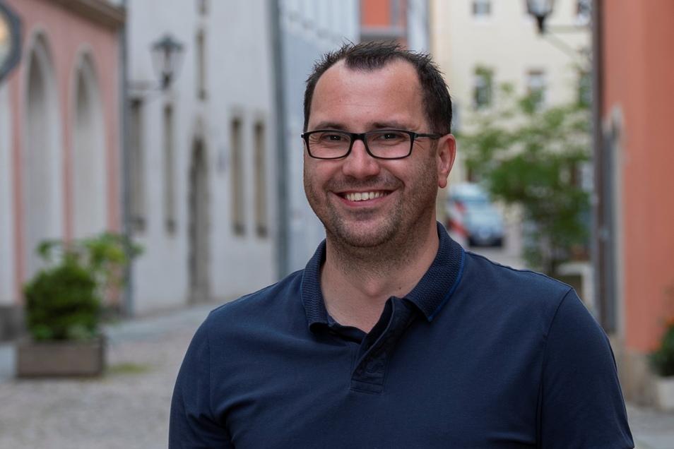Der neue SEP-Mitarbeiter Rick Bothmann: Wir wollen leerstehende Läden gezielt vermarkten.