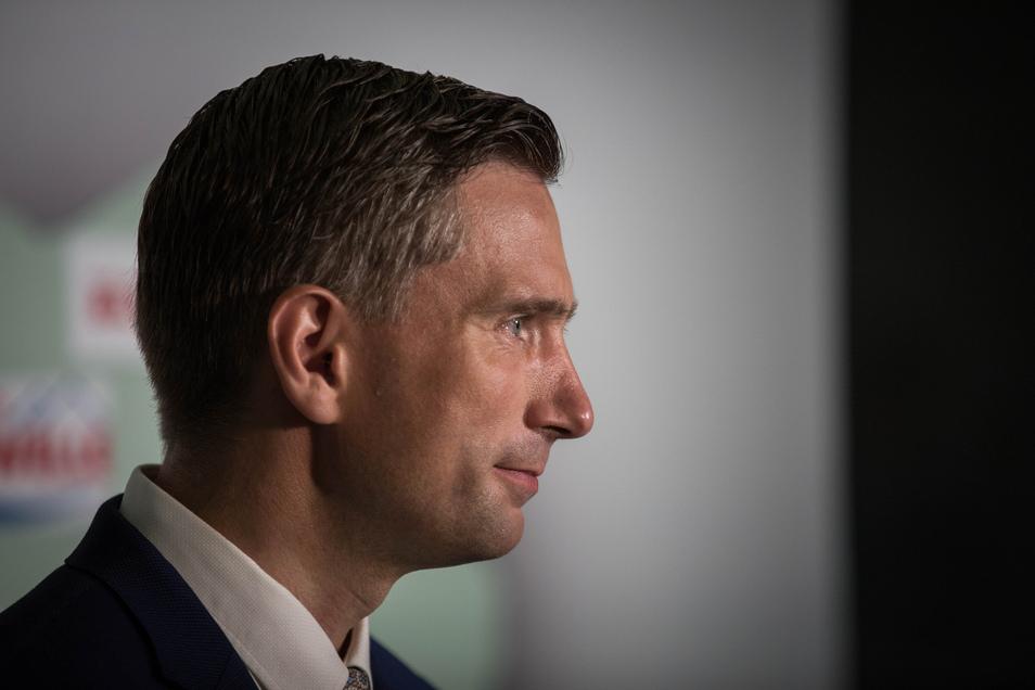 Wirtschaftsminister Martin Dulig ist der sächsische Parteichef der SPD.