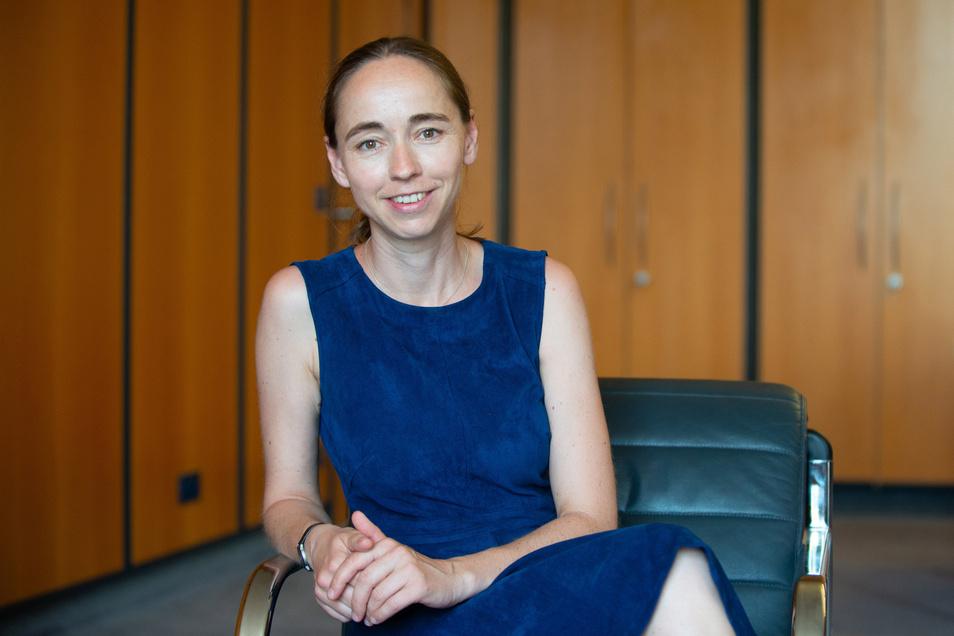 Kristin Kaufmann, 43, ist seit Oktober 2015 Beigeordnete für Arbeit, Soziales, Gesundheit und Wohnen in Dresden.