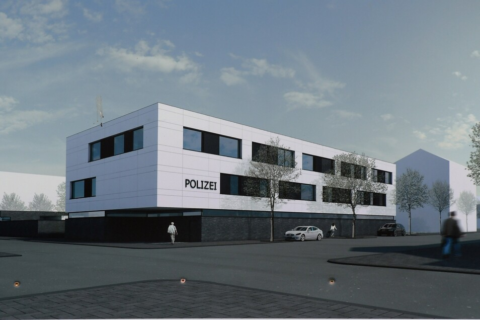 Das Gebäude wird besonders energiesparend sein.