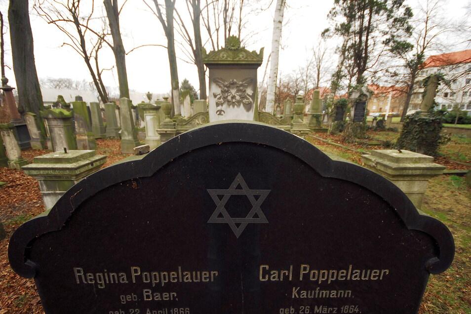 Der jüdische Friedhof befindet sich in der Görlitzer Südvorstadt.