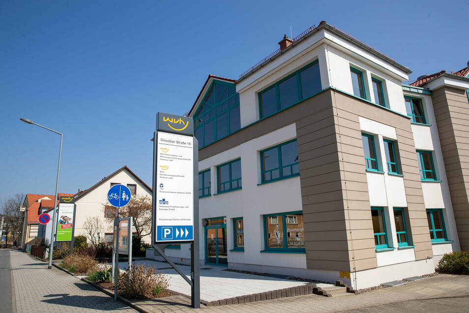 Der größte Vermieter in Heidenau: die städtische Wohnungsgesellschaft WVH.
