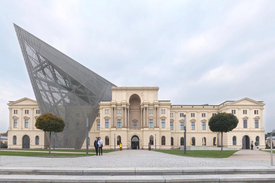 Blick auf das Militärhistorische Museum in Dresden