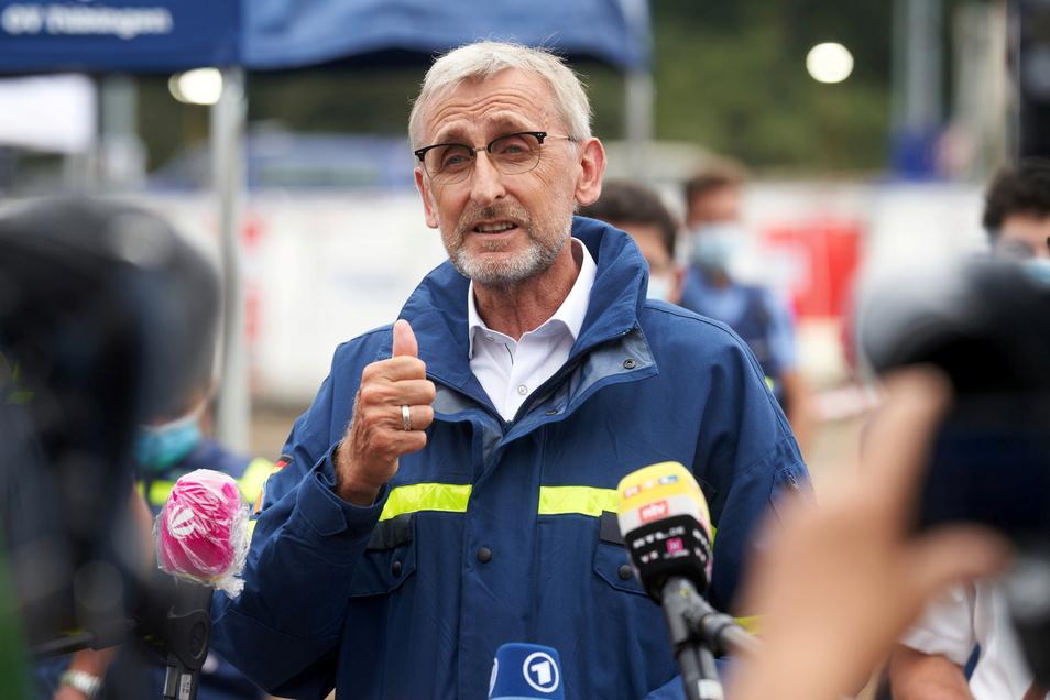 Armin Schuster, Präsident des Bundesamts für Bevölkerungsschutz und Katastrophenhilfe (BBK)