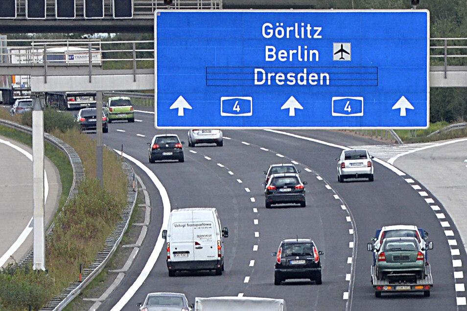 So entspannt wie auf diesem Archivbild wird der Verkehr ab Montag wohl nicht in Richtung Görlitz rollen.