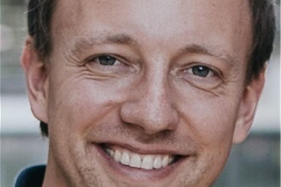 Freddy Müller aus Weickersdorf, Gründer der Firma ERS Elektroroller.