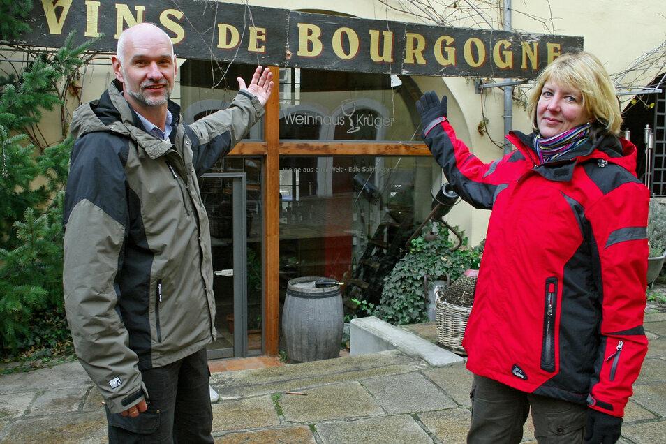 Karina Thiemann und ihr damaliger Kollege Uwe Stark waren die ersten, die das Thema Filmstadt Görlitz aufgriffen und Touristen an Drehorte führten.