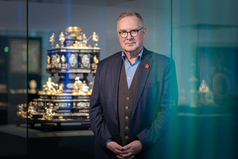 Dirk Syndram ist Direktor des Grünen Gewölbes und der Rüstkammer im Dresdner Residenzschloss.