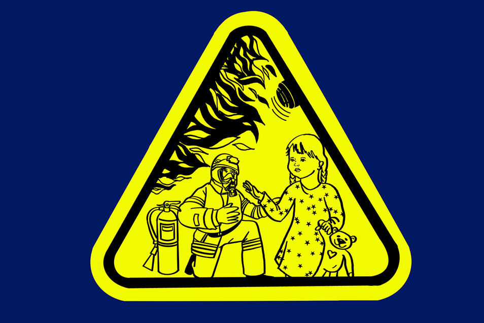 Der Kinderfinder soll an Türen von Kinderzimmern angebracht werden.