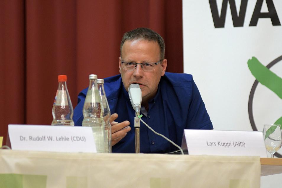 Polizeiobermeister Lars Kuppi (AfD) hat 31,7 Prozent der Wählerstimmen erhalten und damit einen Platz im Landtag sicher.