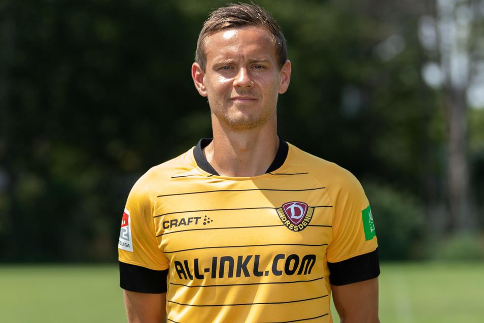 Chris Löwe ist einer der beiden Spieler, die heute Nachmittag ins Oskarhausen kommen.
