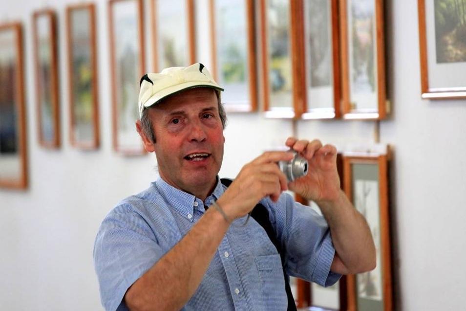Blumenhalle: Ausstellung des Hobbymalers Klaus Fritz.