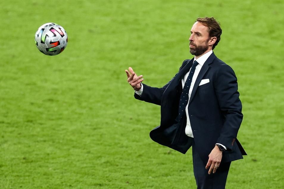 Englands Trainer Gareth Southgate braucht erstmal eine Auszeit.
