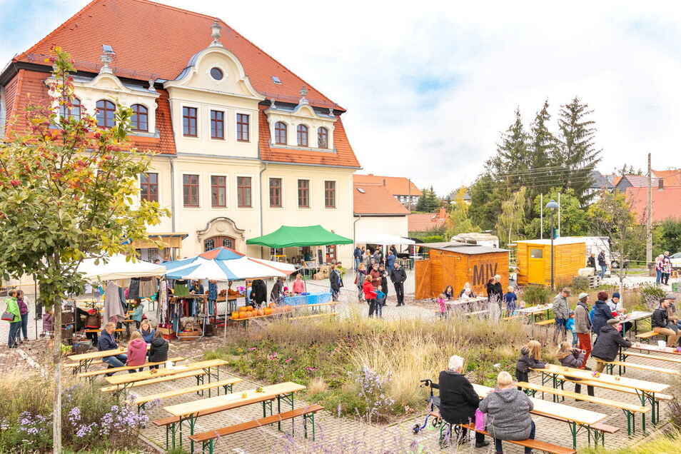 Der Markt der Möglichkeiten findet am Samstag in Raußlitz zum dritten Mal statt.