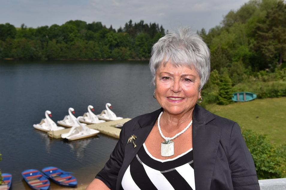 Petra Braun ist die neue Ortsvorsteherin von Malter. Die schöne Umgebung des Ortes zu erhalten, ist ihr ein wichtiges Anliegen.