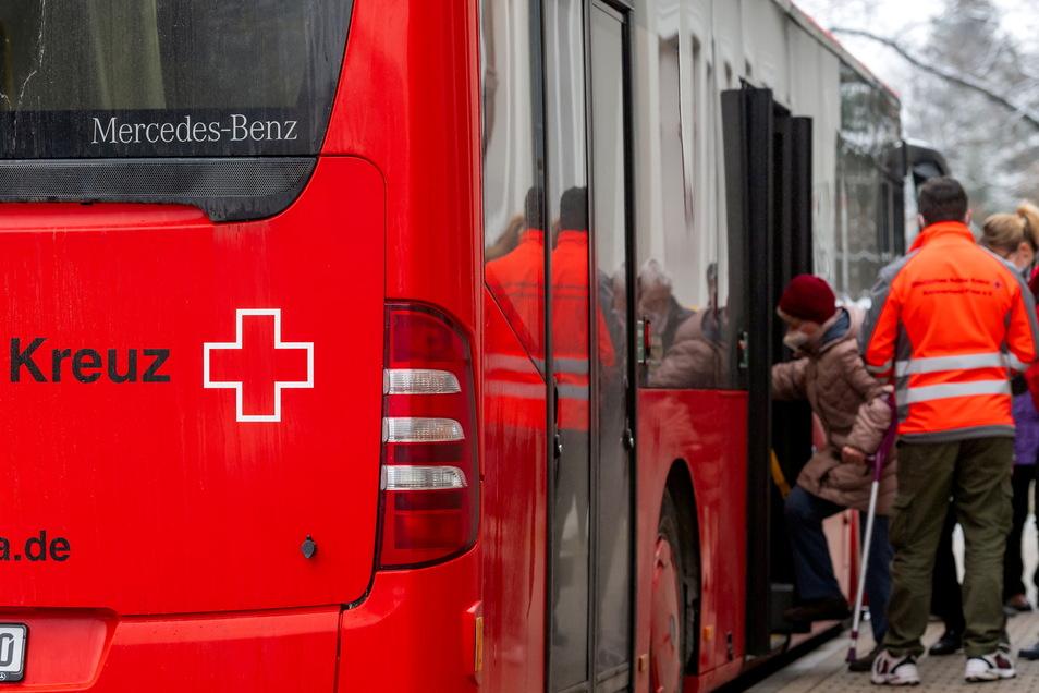 Der Impfbus ist vor allem ein Angebot für Menschen, die weniger mobil sind.