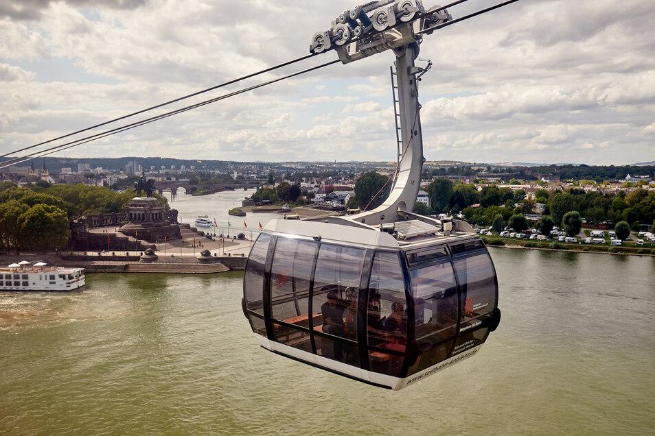 In Koblenz wurde anlässlich der Bundesgartenschau 2011 eine Seilbahn aufgebaut.