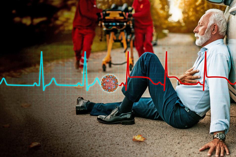 Menschen mit Herz-Kreislauf-Erkrankungen oder anderen chronischen Leiden sind besonders für schwere Verläufe und Komplikationen gefährdet.