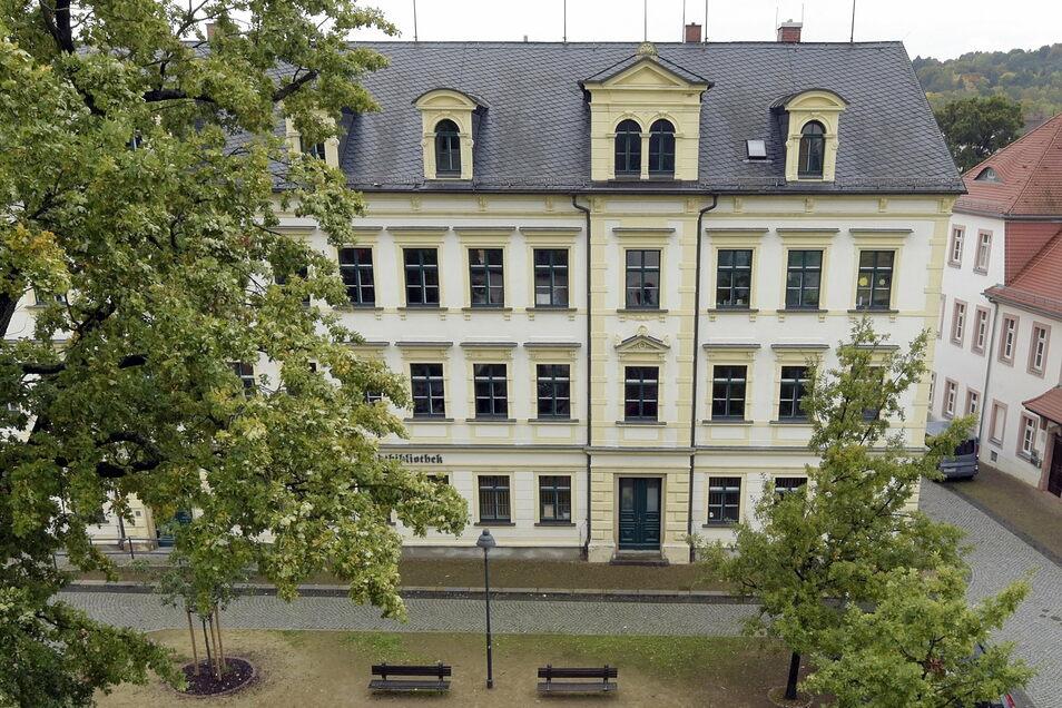 Bleibt weiter geschlossen: die Stadtbibliothek Döbeln.