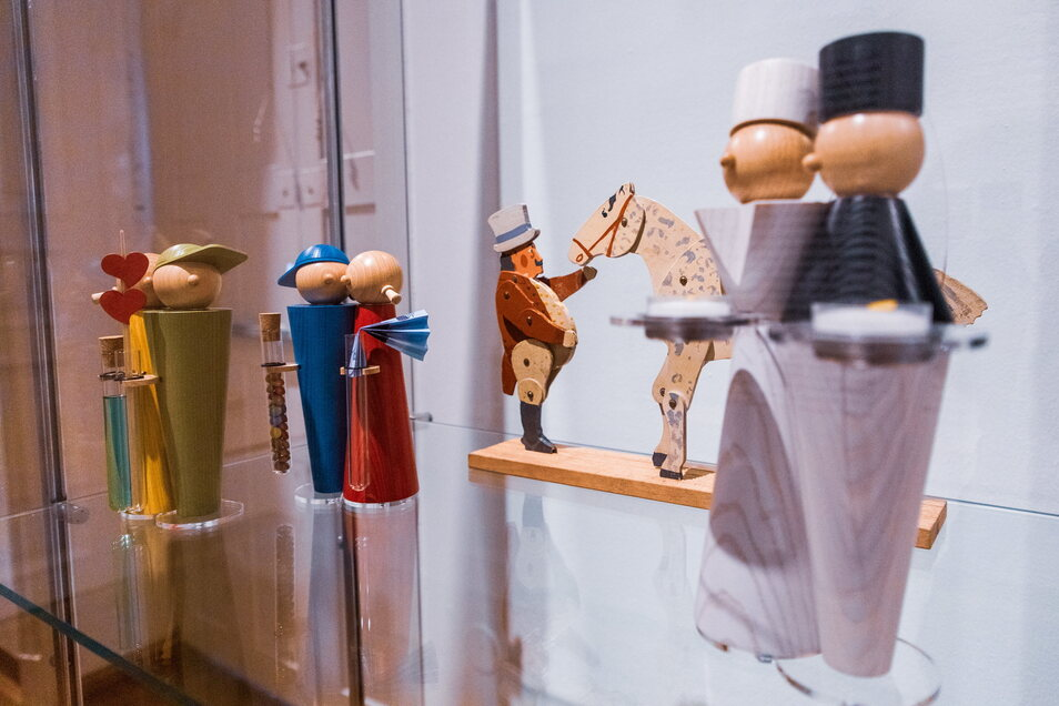 """Die """"Erzclique"""" von Luise Ullrich aus Schneeberg ist aus nachhaltig produziertem Holz, macht einfach Spaß und taugt nicht nur für die Weihnachtszeit."""