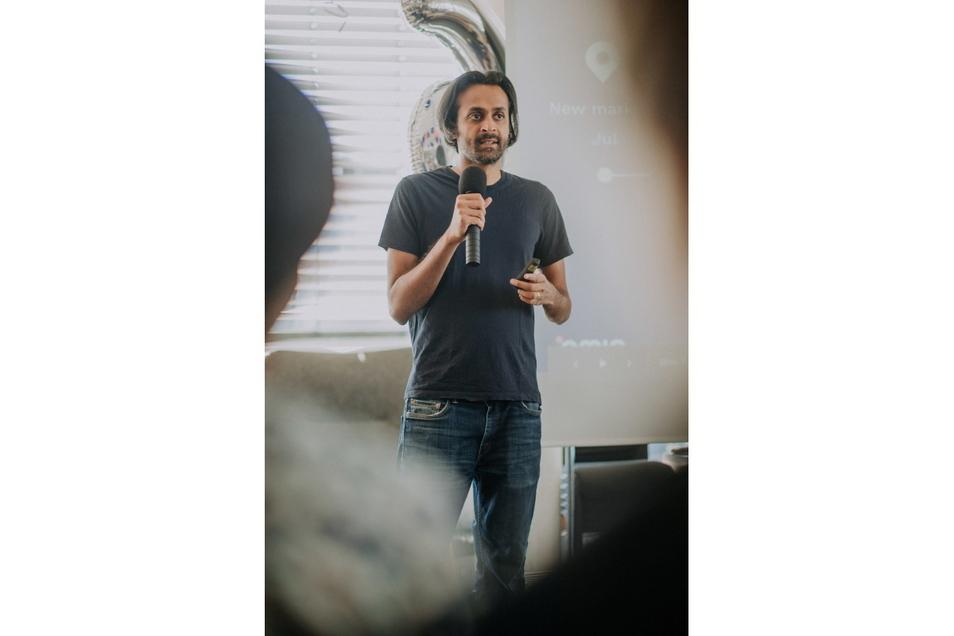 Naren Shaam, der aus Indien stammende Gründer des Reiseportals Omio