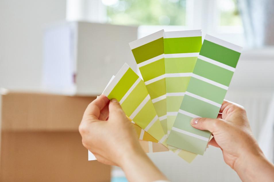 Grün sorgt für Ruhe, Sicherheit und Kreativität.