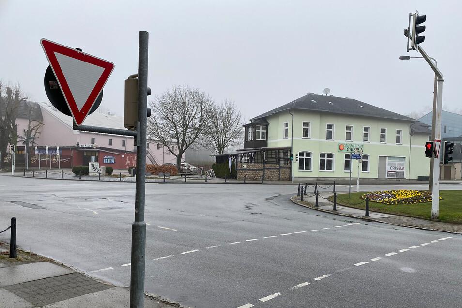 Postkreuzung Neugersdorf.