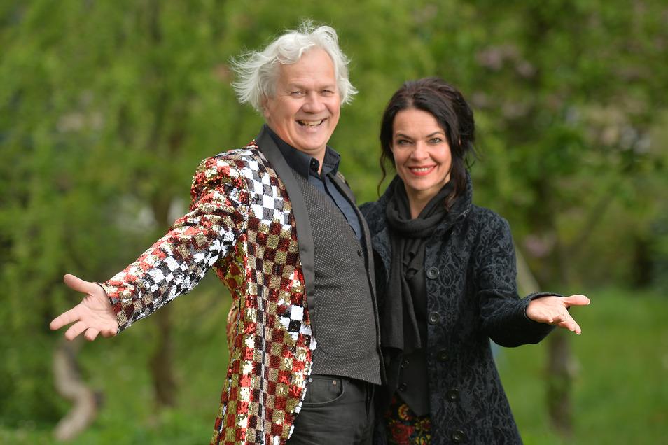 Die beiden Wahl-Reichenberger Henriette Ehrlich und Alf Mahlo haben gut lachen. Ihr Kleines Welttheater in Altkötzschenbroda ist nach knapp zwei Spielzeiten schon gut positioniert. Gäste kommen nicht nur aus Radebeul.