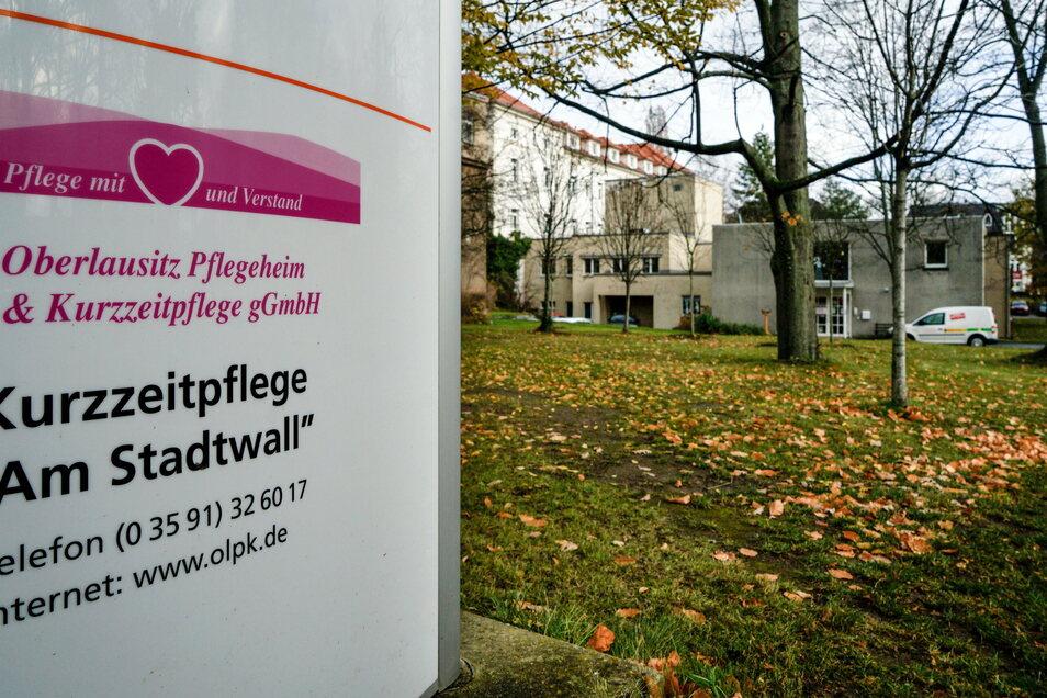 Die Einrichtung am Stadtwall in Bautzen wird auch weiterhin eine Kurzzeitpflege sein, aber vorerst nur für Bewohner, die positiv auf Corona getestet wurden.