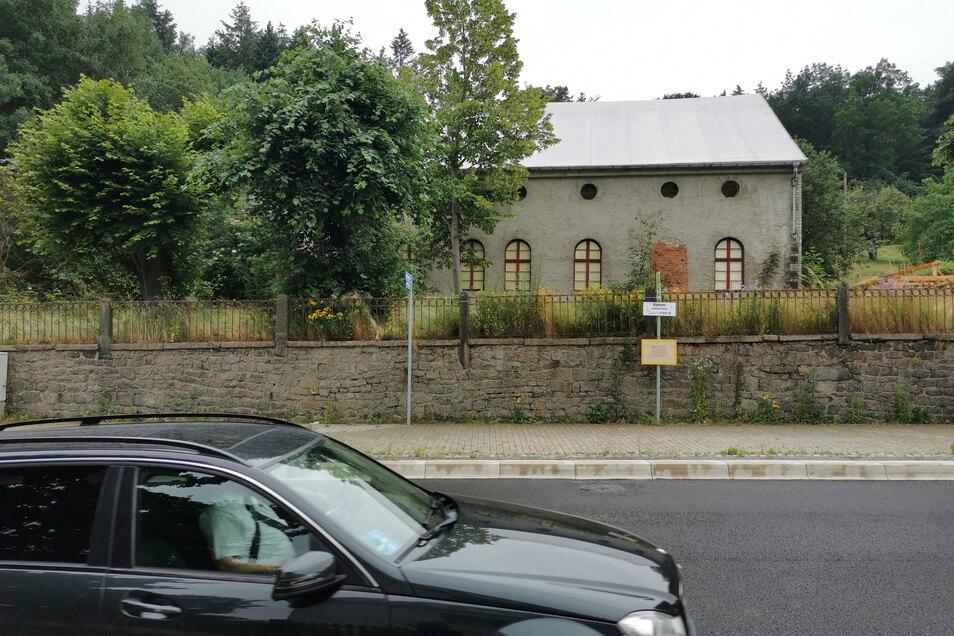 """Die """"Lindenterrasse"""" heute. Seit 2013 gehört das Gebäude wieder der Stadt Kamenz."""