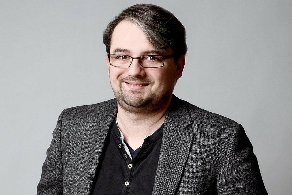 Der Dresdner Journalist Andreas Szabó.