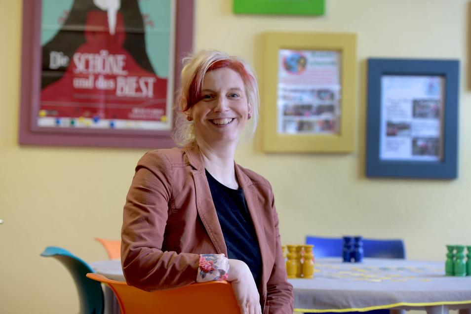 Marei Sonntag leitet seit Kurzem das Amt für Bildung und Soziales im Zittauer Rathaus.