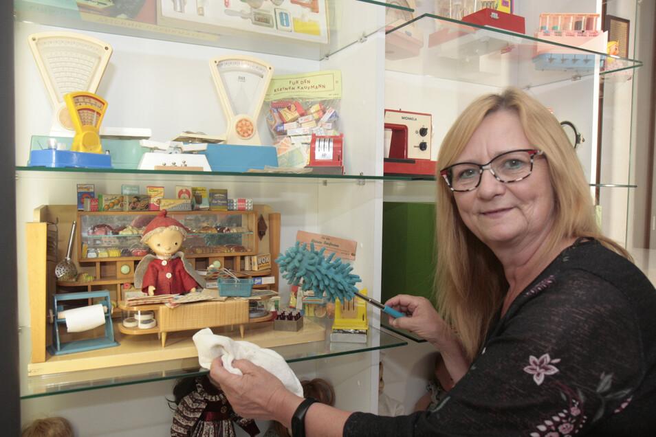 Kerstin Fiedler ist Leiterin des Spielzeugmuseums Görlitz und Vereinsvorsitzende.