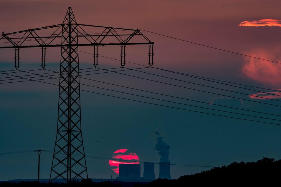 Beim Kraftwerk Lippendorf südlich von Leipzig ist das Ausstiegsdatum auf Ende 2035 festgelegt.