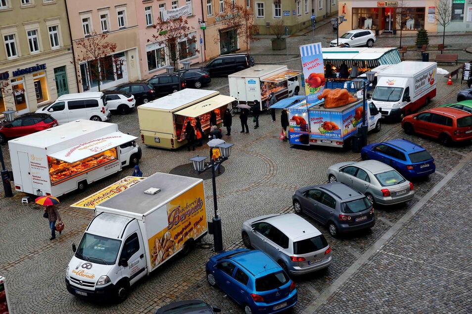 Für den Kamenzer Marktplatz wünschen sich Einwohner aus dem neuen Bürgerbudget Sonnenschutz und ein Kinder-Spielgerät.