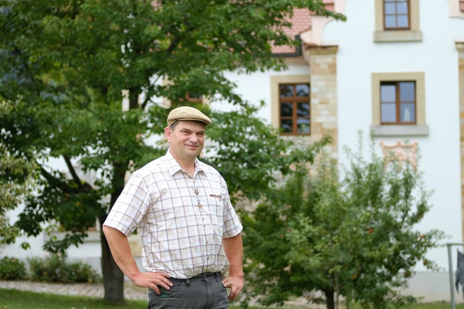 Sven Bothe hatte Heino auf seinRittergut Ilkendorf bei Nossen eingeladen. Damit begann der Ärger.