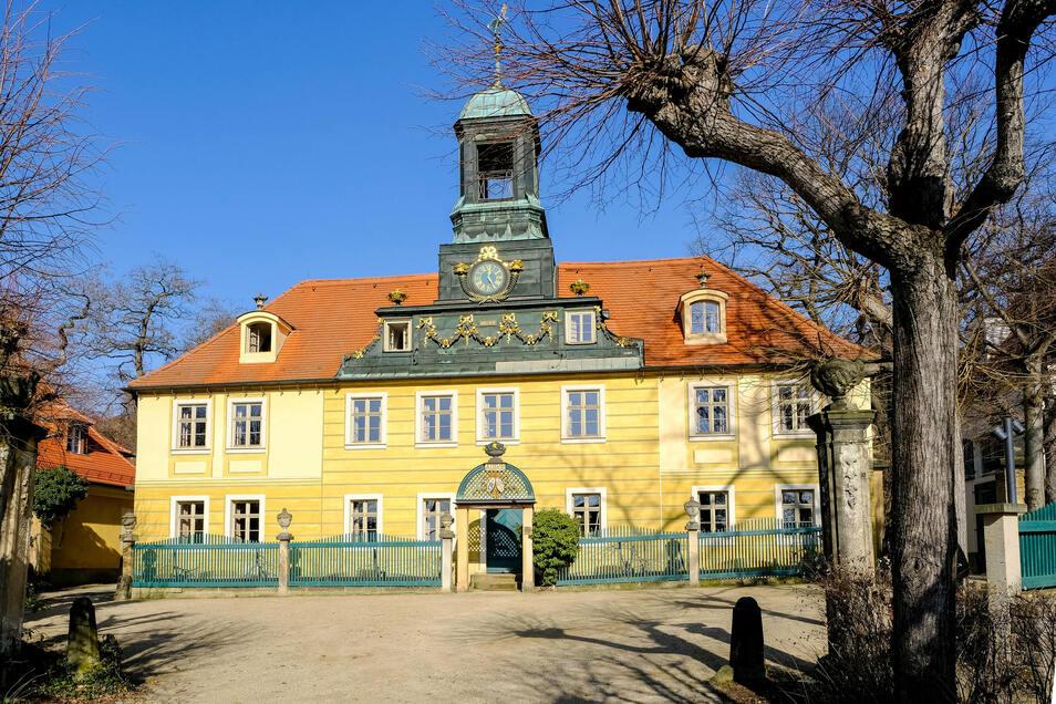 Die Villa Sorgenfrei in Radebeul.