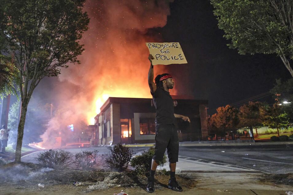 Atlanta - Afroamerikaner bei Polizeieinsatz erschossen