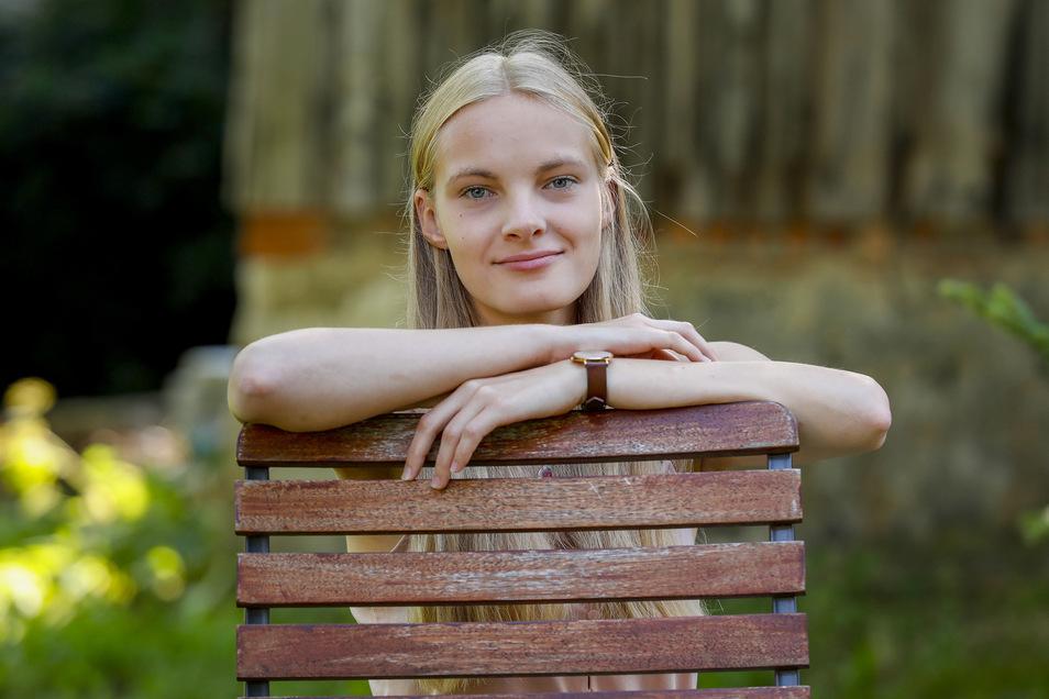 Johanna Ludwig aus Großhennersdorf will in Leipzig BWL studieren.
